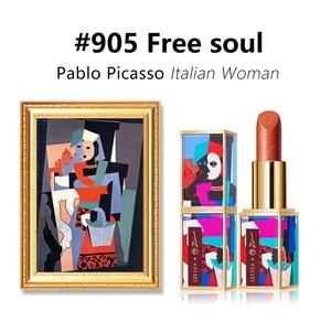 Image 3 - Zeesea Nuove Collezioni Picasso Opaco Prova di Velluto Non stick Tazze di Acqua di Lunga Durata Naturale Stick Labbra Nude Smalto Trucco cosmetici