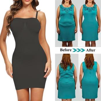 Joyshaper Tummy Control Slip Under Dresses Seamless Camisole Shapewear Shapewear Sexy  Lingerie Underwear Underskirt Slimming 1