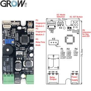 Image 4 - Crescer K215 V1.3 + r501 impressão digital placa de controle de acesso para controle de acesso do automóvel