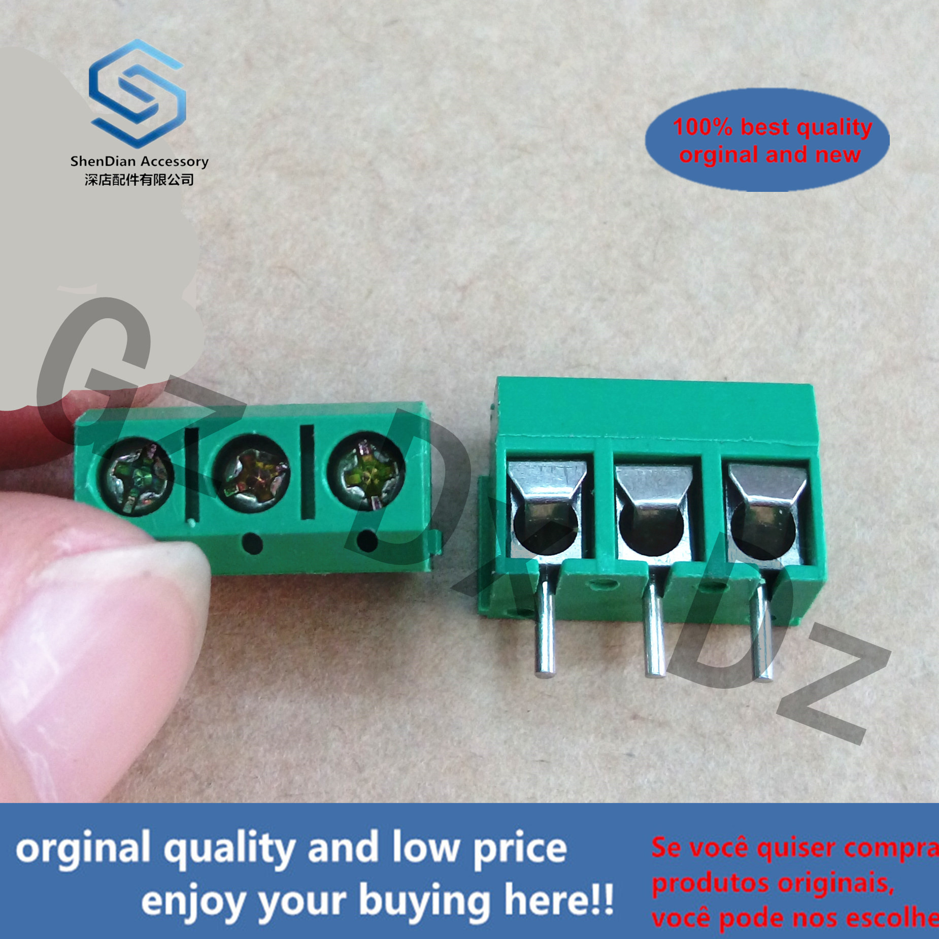 2pcs 100% Orginal New KV301 3P 3 16A Brand New Terminal Block Terminal Block Terminal Copper Real Photo