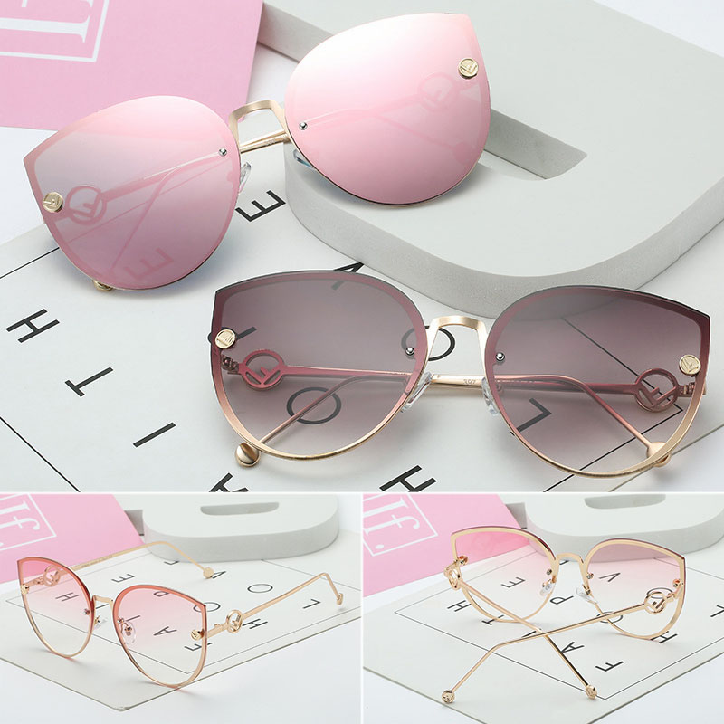 Cat Eye Sunglasses Driver Goggles Fashion Big Box Women Sunglasses Women's Ocean Glasses Sunglasses Sexy Women Fashion