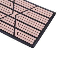 Universal Black/Beige/brown PVC Car Floor Carpet Pad Heel Foot Mat Pedal Patch Cover 23x15cm Car Mat Anti-skid Pedal
