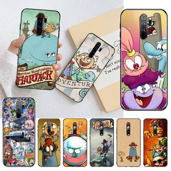 Marvelous Misadventures of Flapjack Newly Arrived Black Cell Phone Case for Redmi Note 9 8 8A 8T 7 6 6A 5 5A 4 4X 4A Go Pro image