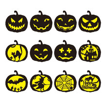 Hollowed out Pumpkin Graffiti Template Painting Stencils Scrapbook For Festival DIY Drawing Carving Template(China)