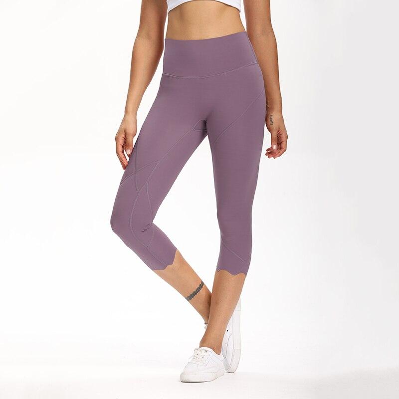 Cardism High Waist Sport Pants Women Yoga Sports Gym Sexy Leggings For Fitness Joggers Push Up Women Calf Length Pants Wave 10