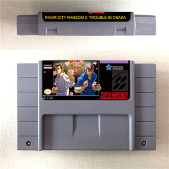 River City Ransom 2 - Trouble In Osaka - RPG Game Card US Version English Language Battery Save