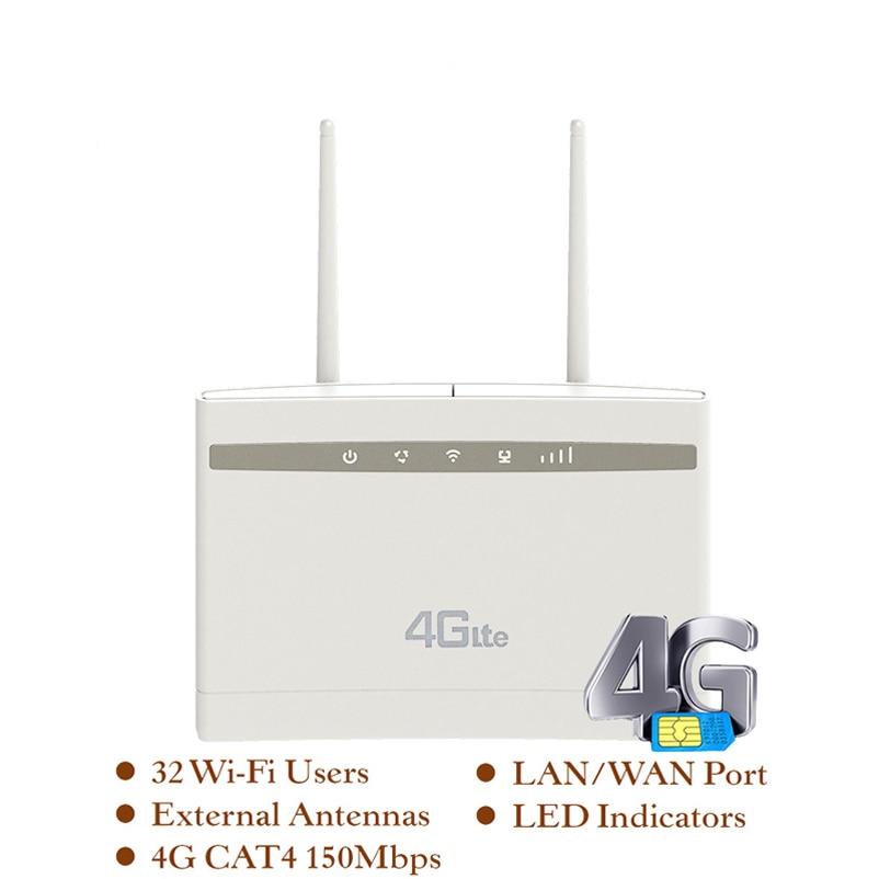 YIZLOAO 4G Router/CPE Wifi Repeater/Modem Broadband With SIM Solt Wi Fi Router Gateway PK Huawei B525 Xiaomi/mi ZTE Router