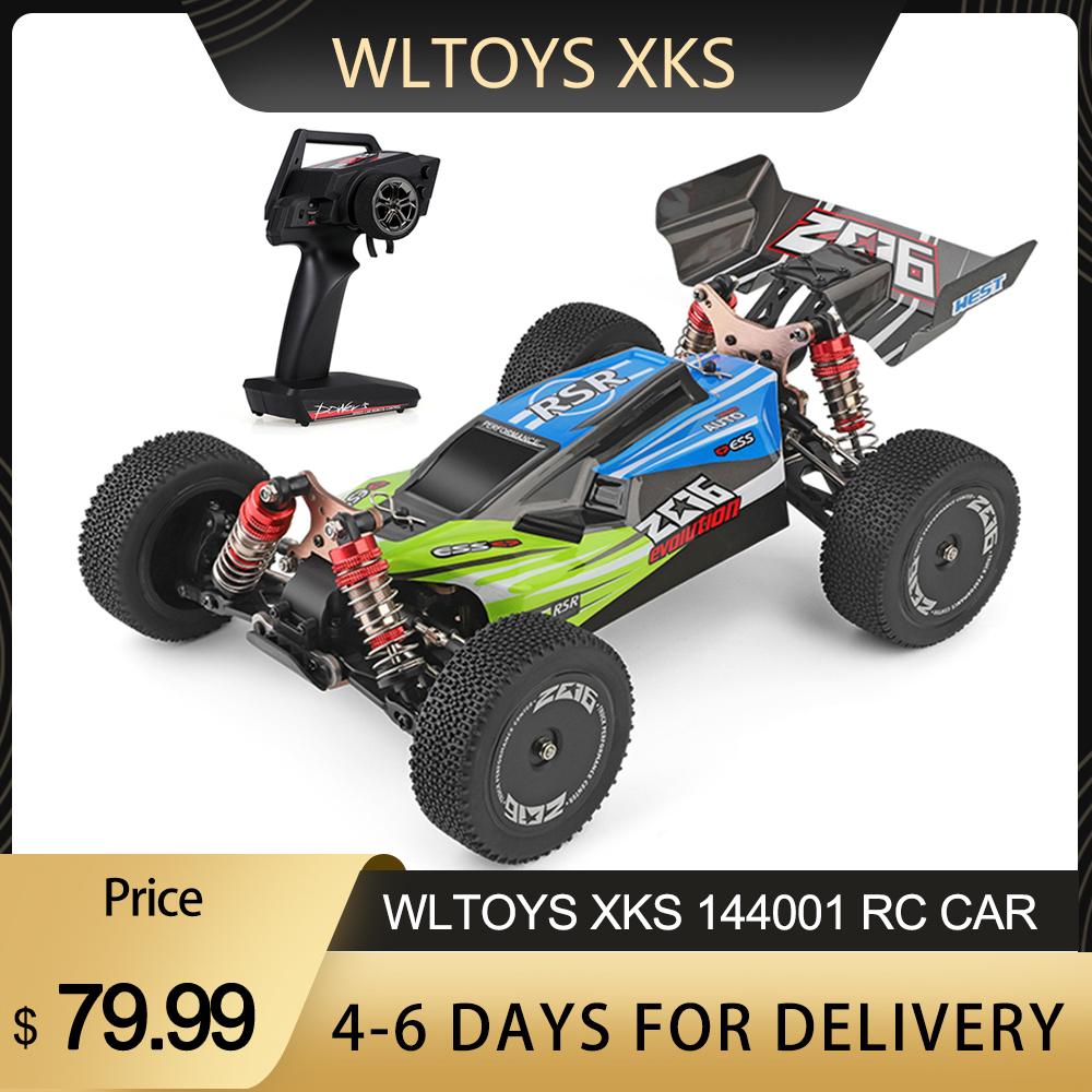 RC Buggy Car-Rtr-Toys Rc-Car Drift Off-Road Racing 144001 High-Speed Wltoys Adult Kids