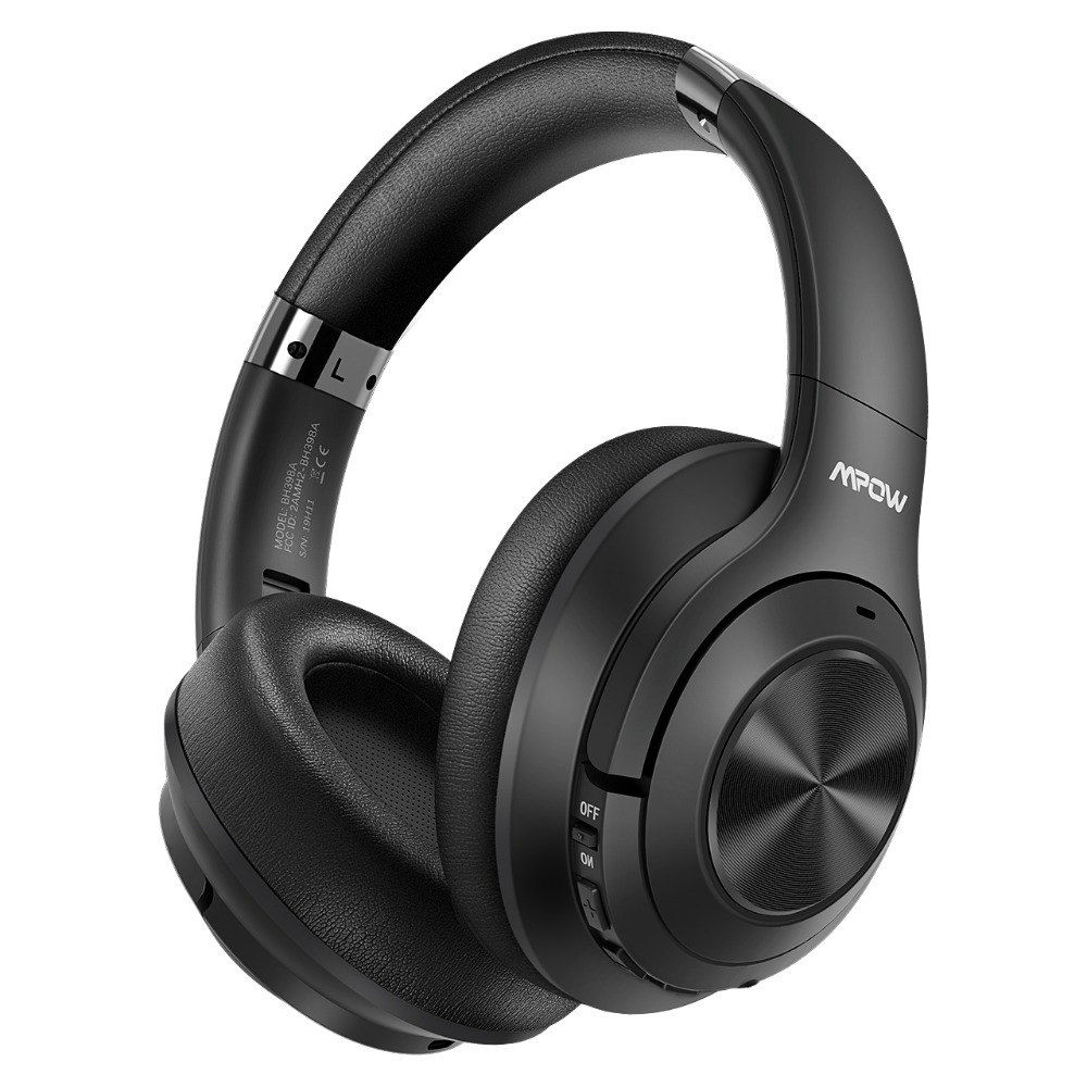 Mpow H21 Wireless Headphone Bluetooth 5.0 Noise Cancelling Headphone With 40 Hours Playtime CVC6.0 Mic Deep Bass For PC Phone (11)