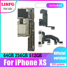 Original Unlocked Logic Board For iPhone XS Motherboard With IOS System For iPhone XS 64GB 256GB 512GB With Face ID Mainboard suitable for lenovo b540 motherboard system board cih77s v1 0 mainboard 2 memory slots 90000814 90002639 90002637