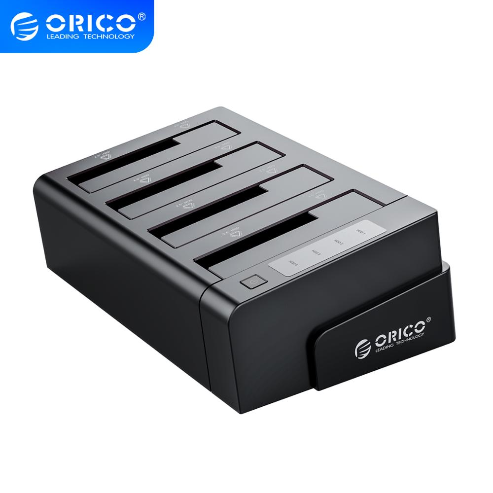 ORICO 2.5 3.5 Inch HDD Case SSD Adapter USB 3.0 to SATA For PC Laptop Hard Drive Docking box 32TB External Storage HDD Enclosure