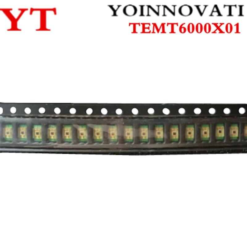 5pcs/lot TEMT6000X01 Visible Lights TEMT6000 TEMT-6000 1206 New And Original
