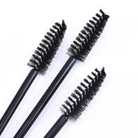 10 Uds pestañas cepillos maquillaje pinceles/brochas varas para máscara de pestañas desechables aplicador pestañas cepillo cosmético herramientas de maquillaje