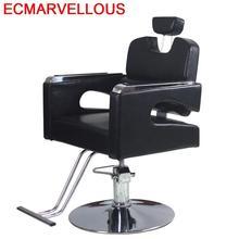Belleza Stuhl Barbero De Cabeleireiro Barbeiro Makeup Mueble Salon Sedie Cadeira Silla Barbearia парикмахерское кресло