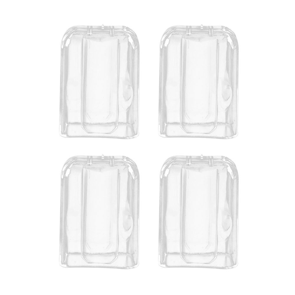 Electric Toothbrush Clear Head Cover Protection For Philips Brush Cap Holder Set