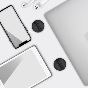 Image 5 - 유니버설 노트북 홀더 블랙 접이식 휴대용 노트북 스탠드, 지원 7 17 인치 노트북, MacBook Air Pro 노트북 쿨러 스탠드 용