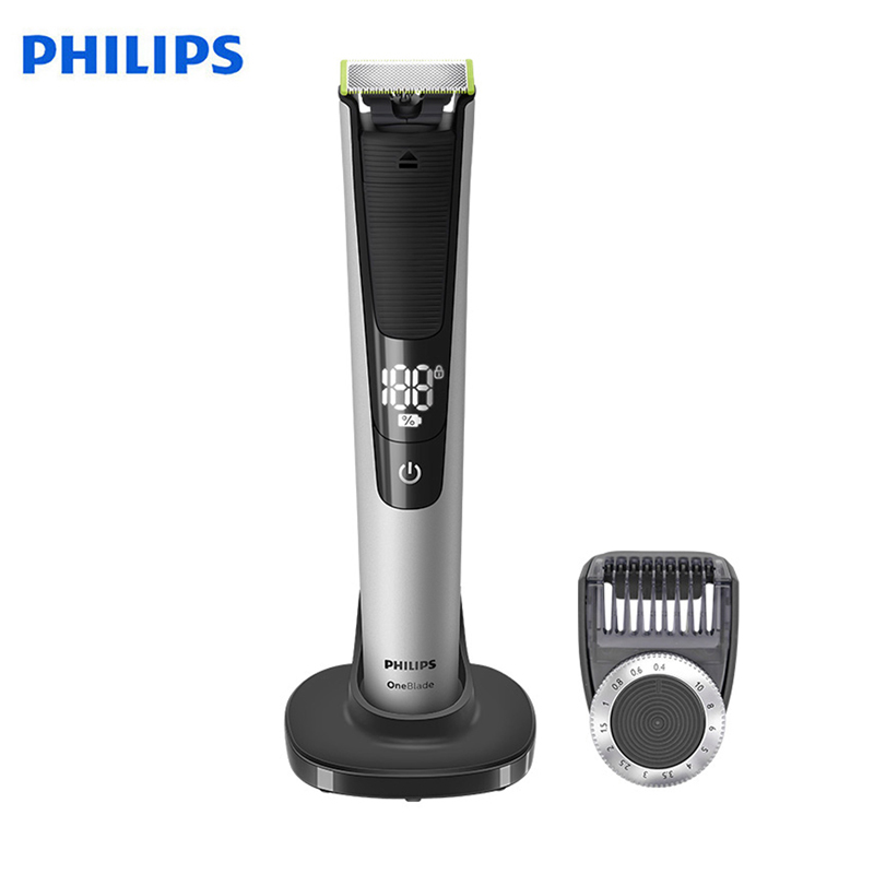 Original Philips OneBlade QP6520 Electric Shaver Rechargeable With Lithium-ion Battery Support Wet& Dry For Men's Shaver