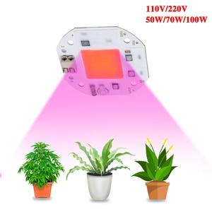 Image 5 - Светодиодный фитолампа полного спектра, для выращивания растений, 100 Вт, 70 Вт, 50 Вт