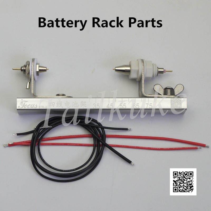 Four Wire Battery Test Rack Battery Clamp 10A With Terminal 26650 1
