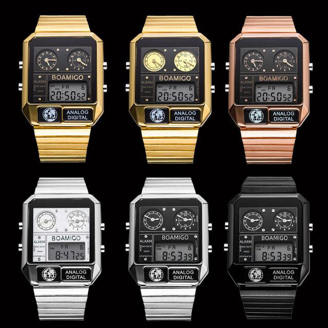 Multi-functional Digital Men's Watch
