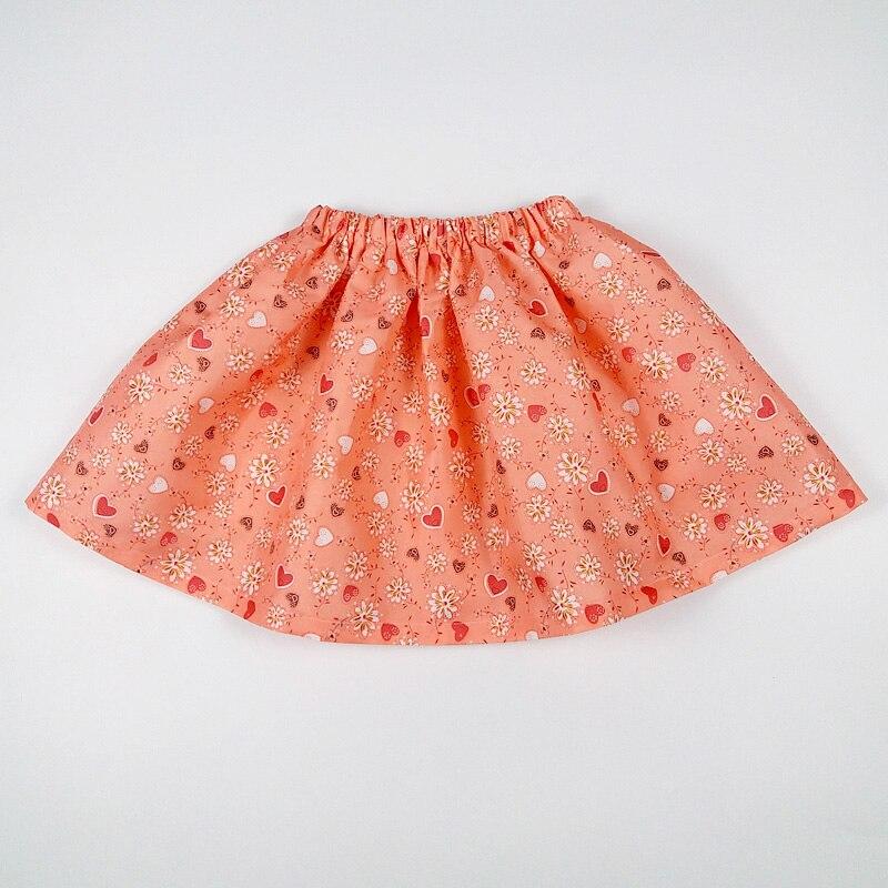 new year printed flower children baby summer tutu girl skirts fashion princess short skirt pettiskirt kids clothes USA Vestido 3