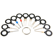 For CAR SUV Pickup Off-road 11PCS Auto Wiring Crimp Connector Pin Removal Key Tool Kit Car Electrical Terminal Remover Mayitr