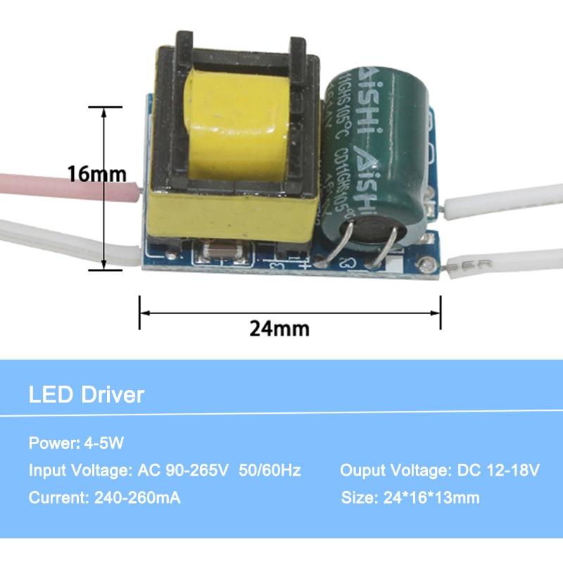 O motorista conduzido 1-36 w entrou AC90-265V transformadores constantes da iluminação da fonte de alimentação para o motorista conduzido da lâmpada do diodo emissor de luz para a iluminação conduzida