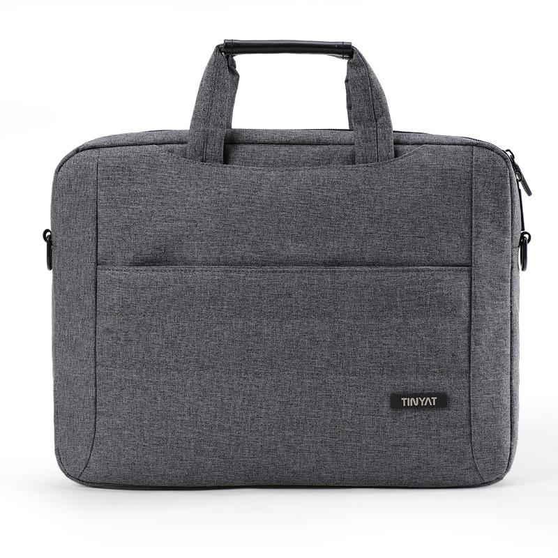 13-15 Inch Laptop Bag For Men's Messenger Bag Men Crossbody Bag For Business Shoulder Bags Multi-Functional Business Briefcase