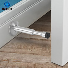 BETOCI Hydraulic Buffer Door Stopper,Pure Copper And Aluminum Alloy Floor Door Stops,Wall-Mounted Bumper,Non-Magnetic Hardware