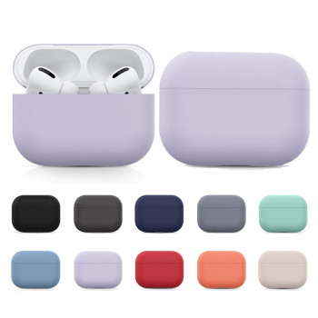Silicone Case For Airpods Pro Case Wireless Bluetooth For Apple Airpods Pro Case Cover Earphone Case For Air Pods Pro 3 Fundas 1