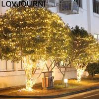 Decoração navidad cortina lampki choinkowe extravagante festa de natal ao ar livre luces led decoracion luz da corda|Fios de LED| |  -