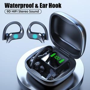 Wireless Bluetooth Earphone Sports Waterproof Wireless Headphone Touch Control Headphones TWS Earbuds Headsets With Microphone