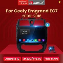 Junsun V1 Android 10,0 AI Voice Control 4G Carplay DSP Auto Radio Multimedia GPS Für Geely Emgrand EC7 1 2009-2016 2din keine dvd