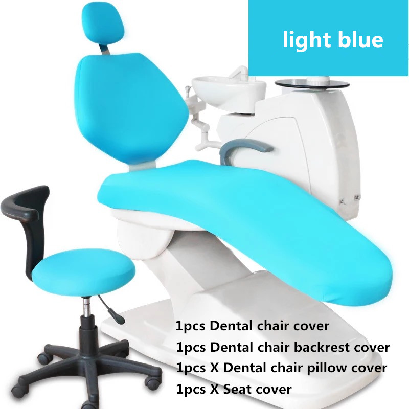 Dental Unit Dental Chair Seat Cover Chair Cover Elastic Protective Case Protector Dentist Tools Dental Lab Instrument Tooth Care