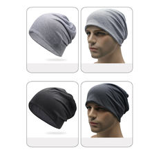 Nova moda verão feminino masculino à moda gorra hombre chapéu de gorra masculino fino macio cor sólida elástico 16 #