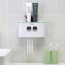 Автоматический Дозатор зубной пасты выдавливатель для настенный