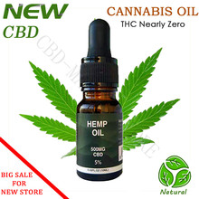 Purity99% 10ml CBD Essential Golden Hemp Oil 500mg CBD  Content Inside for relief anxiety insomnia and prevent cancer effective