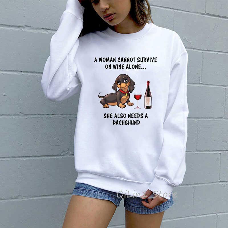 Divertente Beagle amore ECG con cappuccio da donna harajuku kawaii grafici con cappuccio donna girocollo a manica lunga tuta felpa moletom