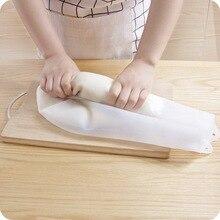 1 takım pişirme pasta araçları yumuşak silikon koruma yoğurma hamur un karıştırma çanta mutfak Gadget aksesuarları