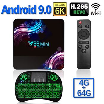 2020 New Wifi 2.4/5G Smart TV Box Android 9.0 4GB 32GB 64GB Ultra HD 6K H.265 Youtube Media Player TV BOX Android TV Set Top Box android 8 1 tv box r tv box s10 plus rk3328 quad core 4gb 32gb wifi 4k h 265 usb3 0 smart set top tv box