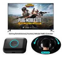 Para controlador PUBG Joystick PC somatosenorial controlador de actitud auxiliar Sensor de gravedad humana para juegos de ordenador manos libres