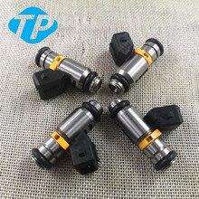 FI0005 4 adet/takım yakıt enjektörü Fiat 500 için Punto Lancia 1,2 1.4 IWP160 71724544 77363790 71792994 71724545 71724546 75112160