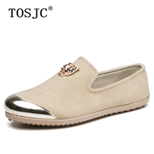 TOSJC Fashion Men Breathable Canvas Loafers Leopard Flats Moccasins Casual Slip-on Boat Shoes Summer Soft Driving for Man