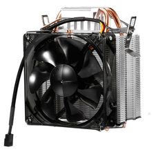 LESHP F2 Chassis Radiator CPU Cooler Hydraulic Mute Silent Fan Thickened Aluminum Heat Sink Fireproof Wire for Computer Black(China)