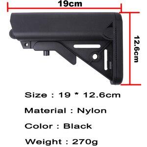 Image 5 - Haute qualité MK18 Nylon Stock pour Airsoft AEG pistolet à Air comprimé M4 AK Gel Blaster J8 J9 CS sport Paintball accessoires