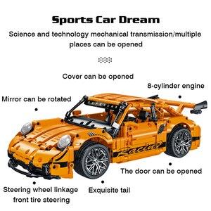 """Высокотехнологичный Конструктор из серии """"Машинки создатели"""", знаменитый скоростной спортивный автомобиль, гоночный набор, игрушки, сборные кирпичи для детей, для друзей        АлиЭкспресс"""