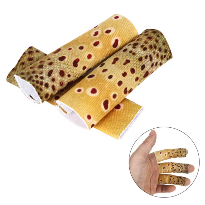 The New Fishing Finger Guard Fly Line Anti Scratch Protection Soft Elastic Outdoor Sports Hand Gear Sleeve Protector 3PCS/Set