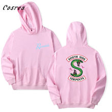 Southside Riverdale Women Hoodie Sweatshirt Pullover South Side Riverdale Cosplay Hoodies Girls Fashion Top Coat Costumes(China)