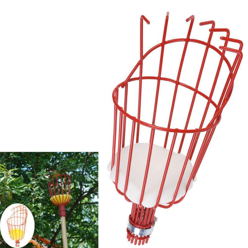 Fruit Picker Basket Catcher Picking Fresh Orange Garden Tools For Broom Pole Stick DTT88