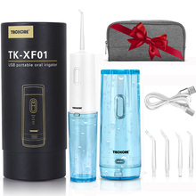 Oral irrigator USB Rechargable Portable Oral Irrigator Water Jet SPA Water Dental Flosser Teeth Cleaner Home Travel